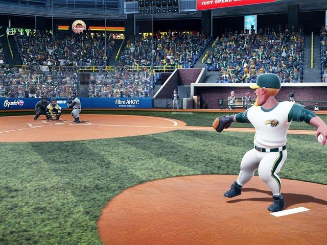 Podobno możesz tylko zabić dzbany w tej grze wideo baseball