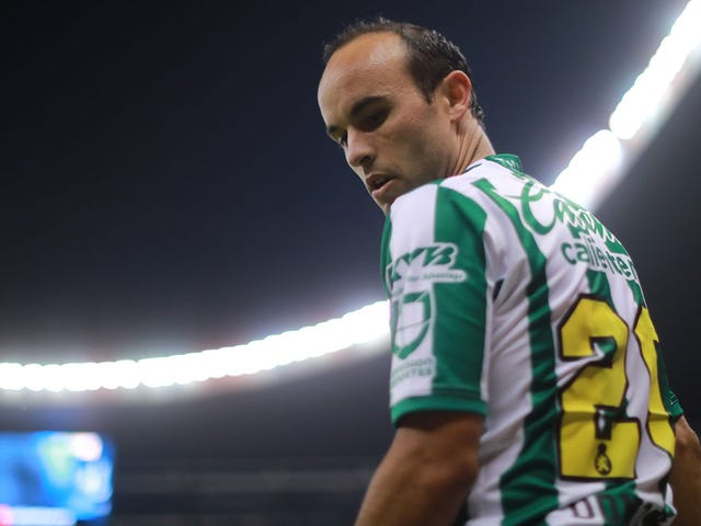 Landon Donovan Can't Stop Playing Soccer