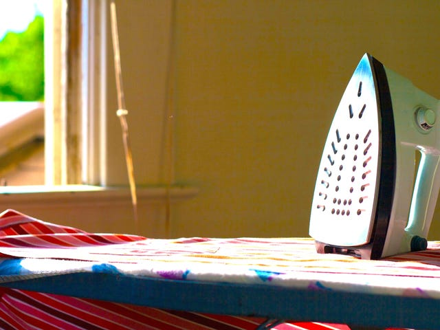 Keep Your Clothes From Wearing Out by Ironing Instead of Washing
