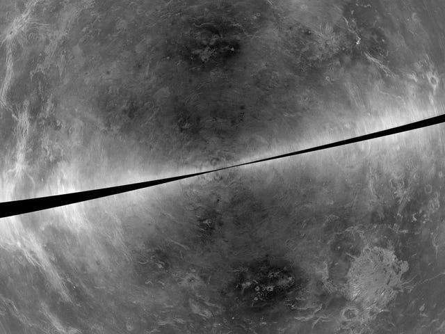 Vapaa-aika Venus, y captada desde la Tierra