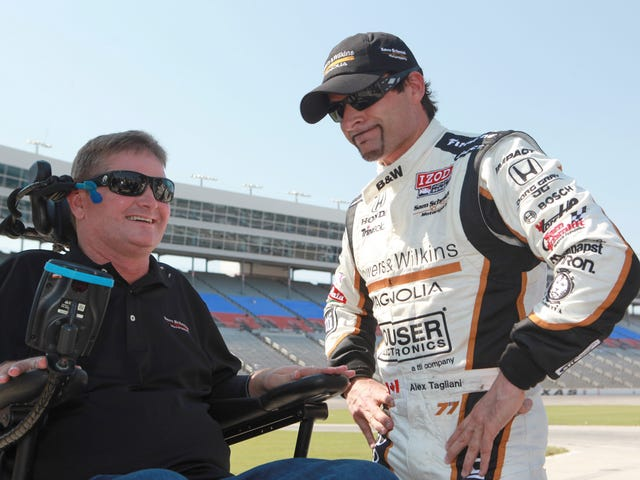 Paralyzed Former Racer Will Receive License To Drive A Car With His Head: Report