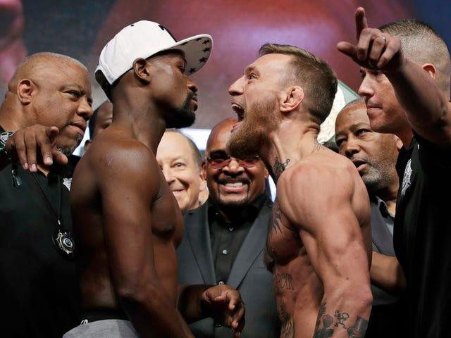 UFC Fight Pass падає під час флойд Мейвезер-младший-конор МакГрегор Боротьба