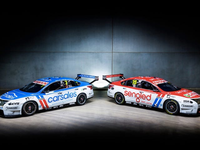 V8 Supercars is going retro this weekend, and I love what Nissan offered