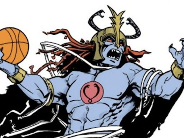 A Gallery Of '80 Cartoon Supervillains Schooling You At Basketball