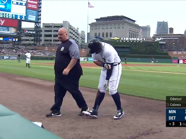 Miguel Cabrera Done For The Season With Ruptured Biceps Tendon