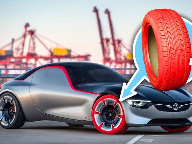 Os pneus coloridos finalmente vão acontecer?