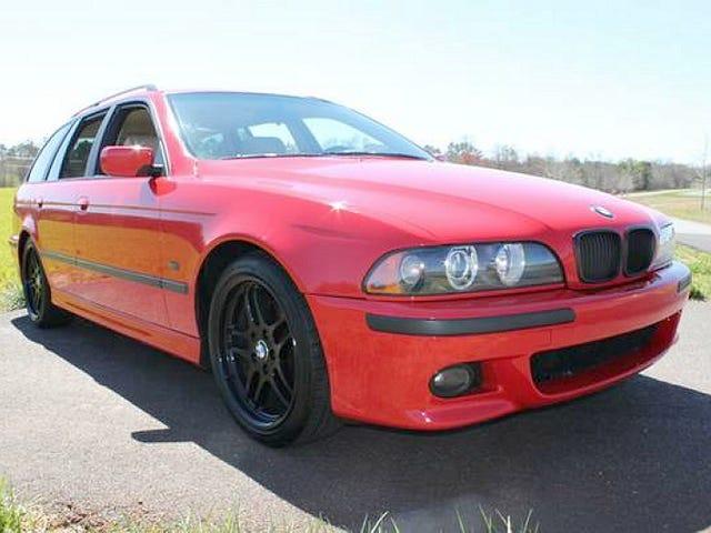 Por $ 9,900, este BMW 540i de 1999 le permite pegarlo al hombre