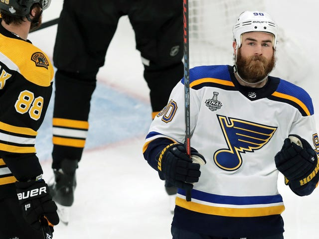 It's Downright Spooky How Ryan O'Reilly Is Always In The Right Place