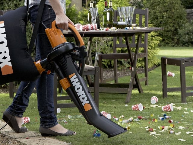 Finally Clean Up Your Lawn With Worx's $50 Electric TriVac