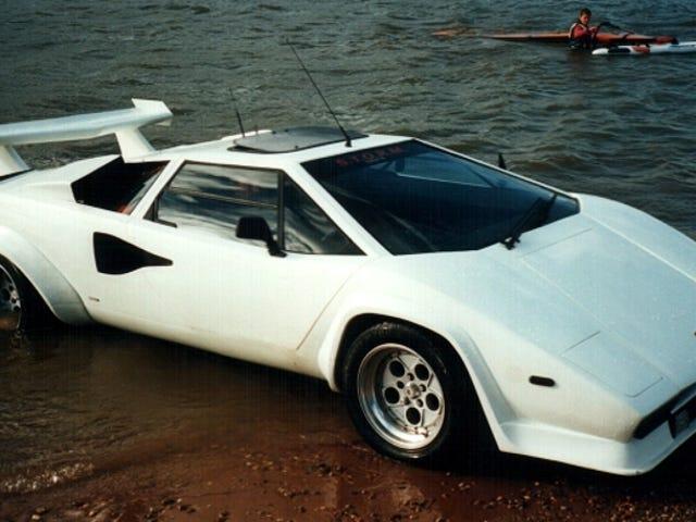 Ville du betale £ 18,995 For en amfibisk Lamborghini Countach?