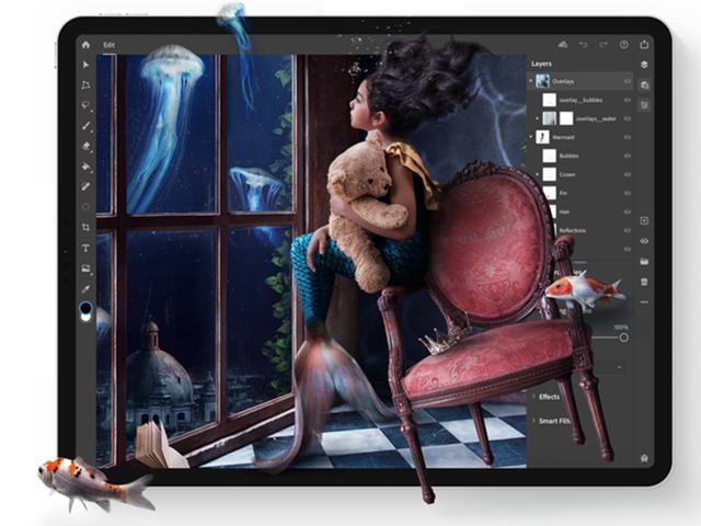 Bây giờ bạn có thể tải xuống Photoshop cho iPad