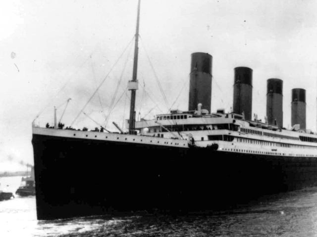 Titanic Passenger Wrote to His Mom That He'd Arrive in New York Soon 'If All Goes Well'