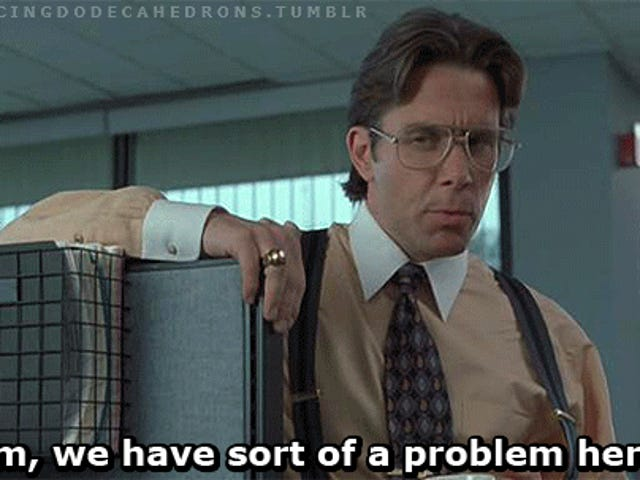 What do you hate in the design of an office space?