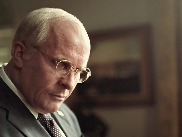 Christian Bale's Dick Cheney impression is the only virtue of the glib, superficial Vice