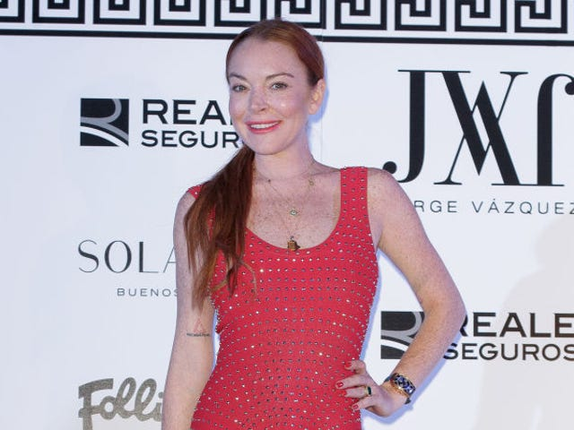Lindsay Lohan Bit By Snake While Hiking in Thailand, Her Shaman Says It's Good Luck