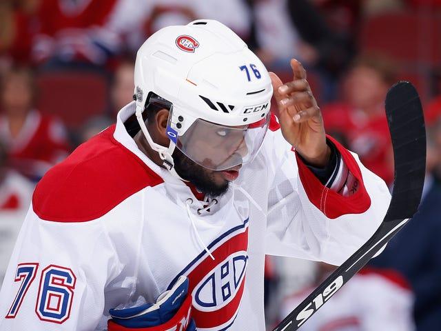 """보고서 : PK Subban의 Canadiens """"Gauging The Market"""""""