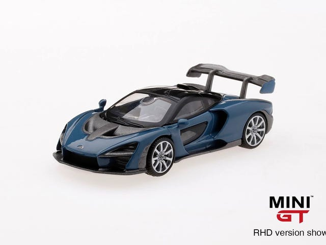 ใครบางคนในที่สุดก็ทำมัน: McLaren Senna จาก Mini GT โดย TSM