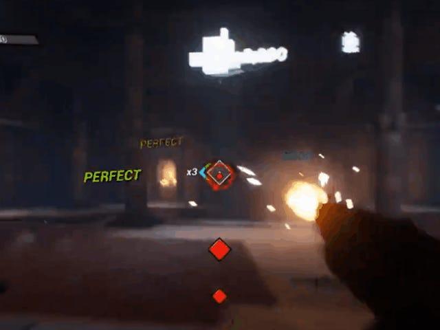 GUN JAM est un jeu de tir mais aussi un jeu de musique