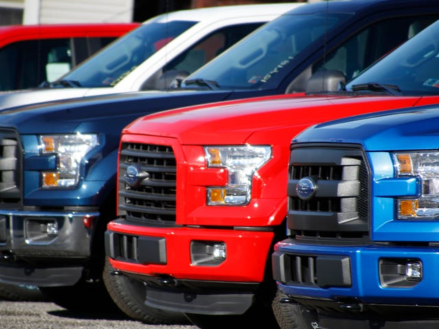 My Hot Take Of The Day Is That Big Pickup Trucks Are A Plague And Should Not Be Sold For Daily Driving
