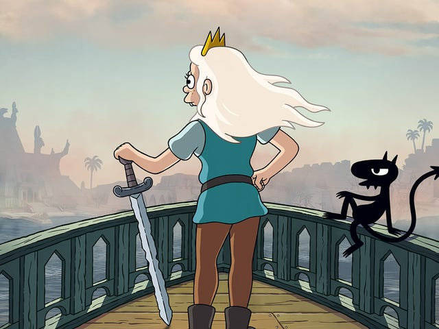 Matt Groening's Disenchantment is back on September 20
