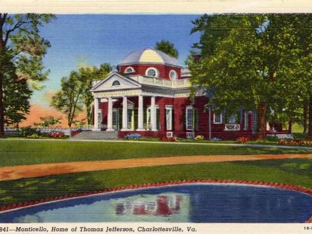 Samtalen om slaveri og dens arv har et sted på Thomas Jefferson's Monticello