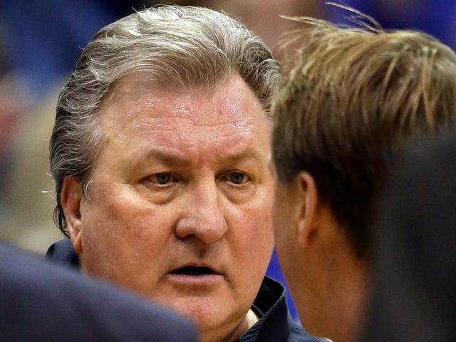 """Bob Huggins, On Hilariously Lopsided Free Throw Disparity Against Kansas: """"You Have No Chance To Win"""""""