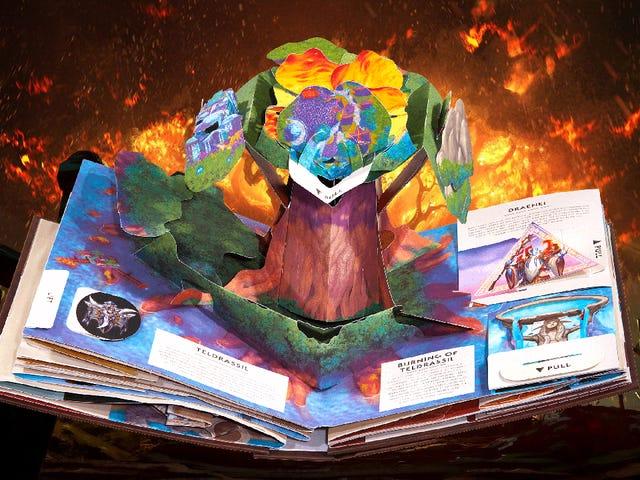 Bi kịch vĩ đại nhất của World of Warcraft trông rất dễ thương trong một cuốn sách bật lên