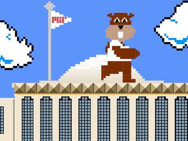 At spille <i>Super Mario Brothers</i> er som at løse et Super Hard Math Problem