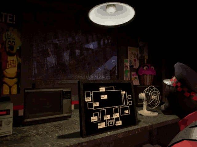 <i>Five Nights at Freddy's</i> ग्रेटेस्ट हॉरर <i>Five Nights at Freddy's</i> : <i>Team Fortress 2</i> से पायरो