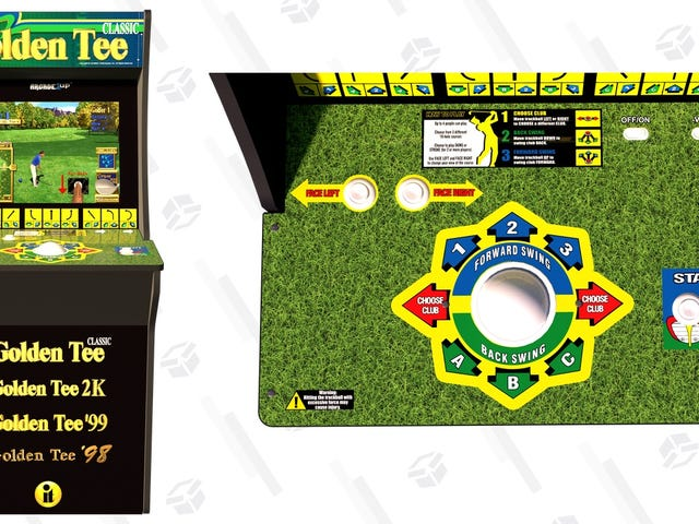 Oh My God, Arcade1Up Made a Golden Tee Cabinet, And It's $50 Off