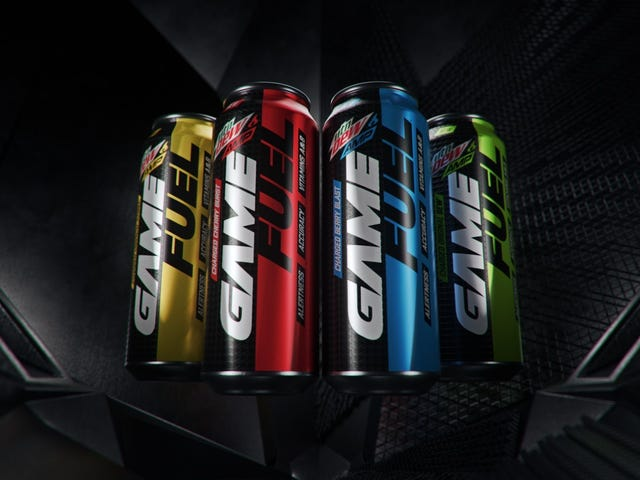 Mountain Dew launches energy drink for gamers