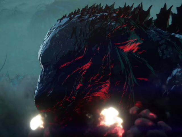 Godzilla Regler Jorden i hans nyeste Anime Movie Trailer