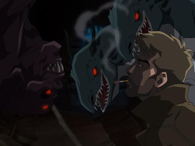 コンスタンティヌスは、彼のアニメーションシリーズを最初に見て悪魔との契約を作る