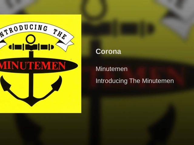 ติดตาม: Corona    ศิลปิน: The Minutemen    อัลบั้ม: Introducing The Minutemen