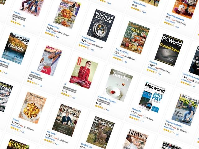 Підпишіться на купу популярних журналів всього за кілька баксів, сьогодні тільки