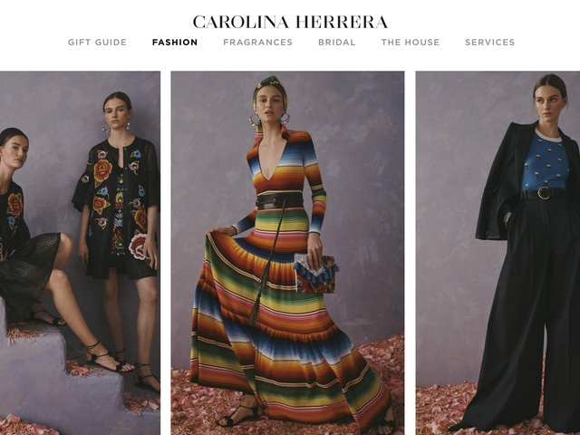 Carolina Herrera Is Confronting the Messy Reality of Cultural Appropriation
