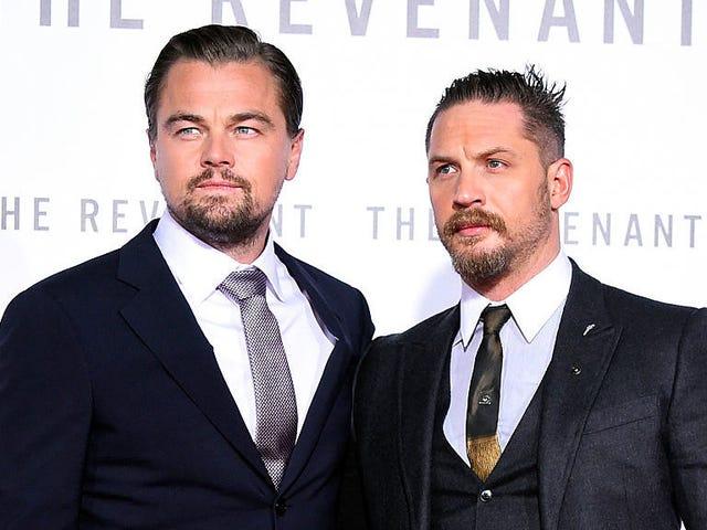 Aquí, por fin, hay pruebas de que Tom Hardy recibió un terrible tatuaje de Leonardo DiCaprio