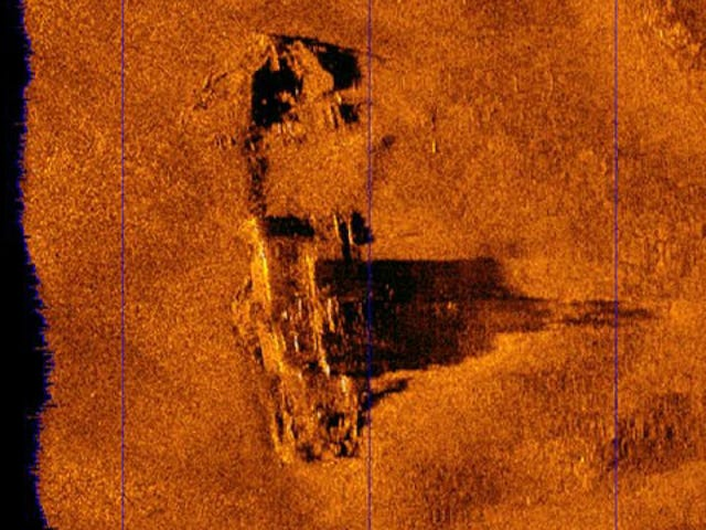 Wreck Of The S. S. Connaught Discovered Off The Coast Of Boston