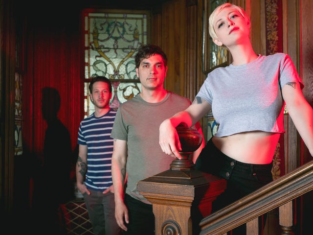 Stream the new album Night Swimming from addictive New Jersey surf-pop trio Dentist