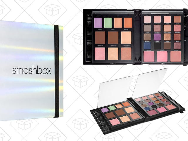 Take a Master Class in Makeup With This Discounted Smashbox Palette