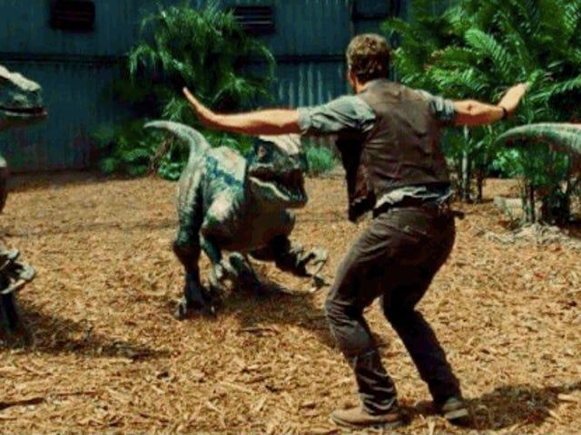 Zookeepers (og deres dyr) gør deres bedste <i>Jurassic World</i> Impressions