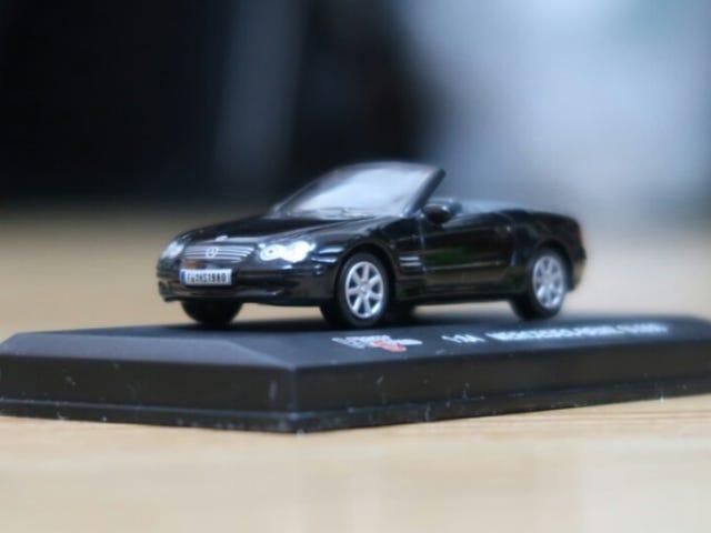 High Speed Mercedes