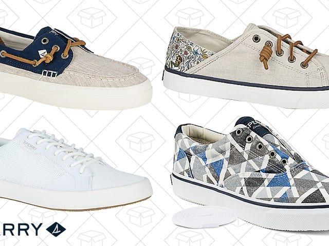 Spaar weg met sparen vanaf deze $ 30 Sperry Sneaker Flash Sale