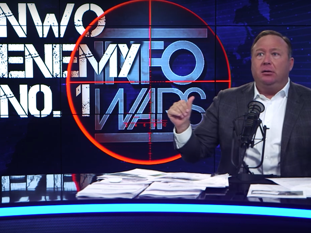 One Strike Away From YouTube Ban, Alex Jones Begs Parkland Survivor to Come on Show