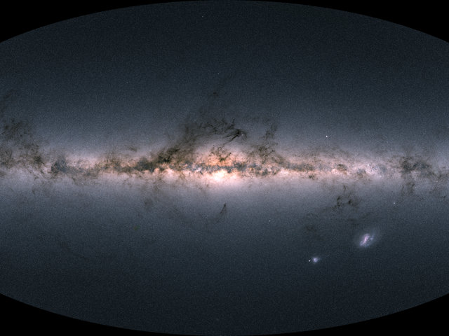 Incredible New View of the Milky Way Is the Largest Star Map Ever
