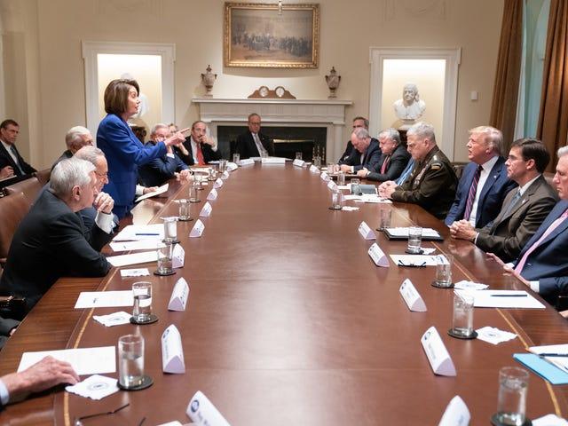 J'ai regardé cette photo de Nancy Pelosi et je n'ai rien senti