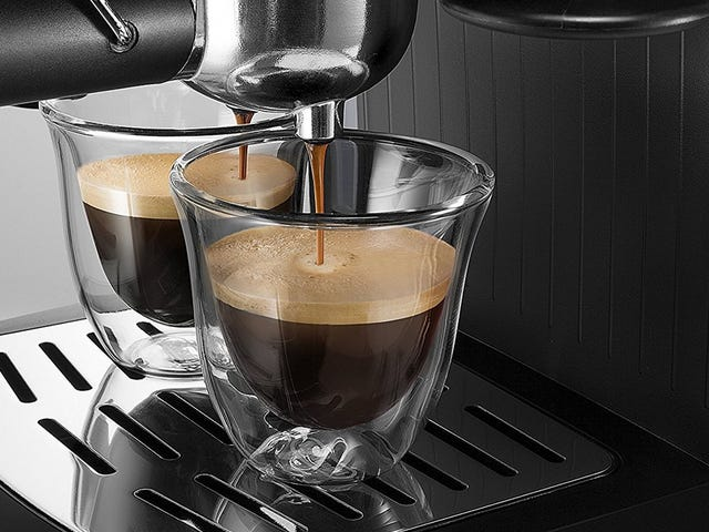 Make Your Own Cappuccino and Espresso With This $60 DeLonghi