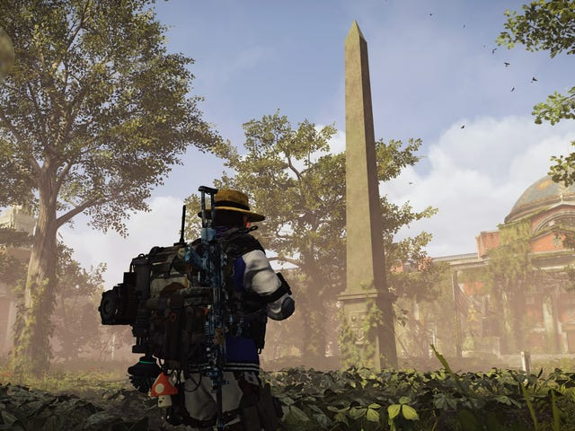 An Investigation Into Whether Two Statues In The Division 2 Appear To Be Having Sex