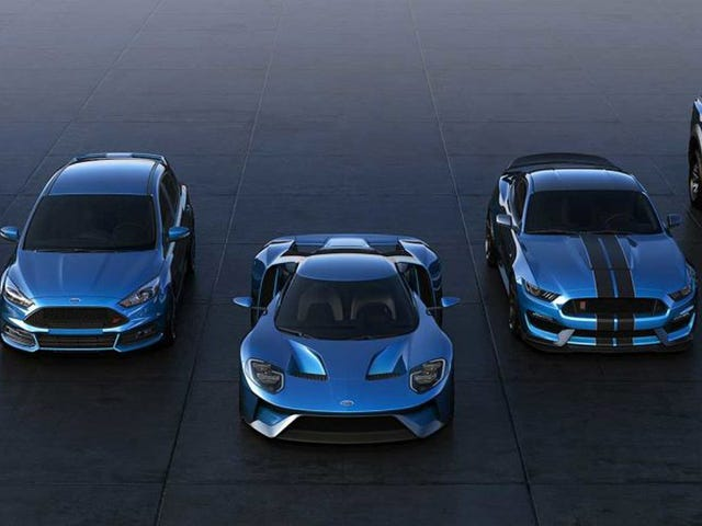No, You Can't Have That Gorgeous Shade Of Ford GT Blue