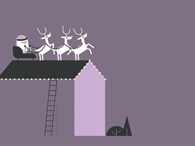 Hilarious Animation Pokes Fun of the Silliness of Santa Claus